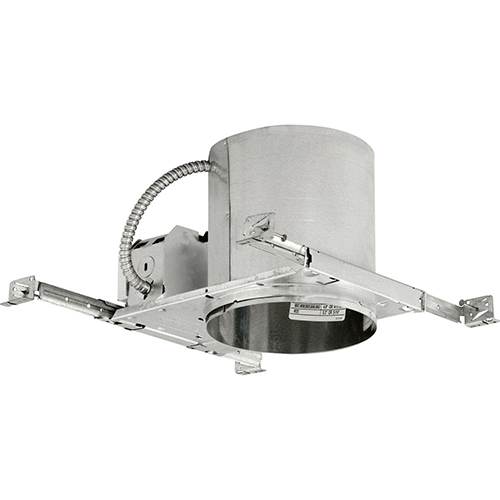 P83-26ICAT: Unfinished Eight-Inch One-Light Fluorescent Recessed Housing
