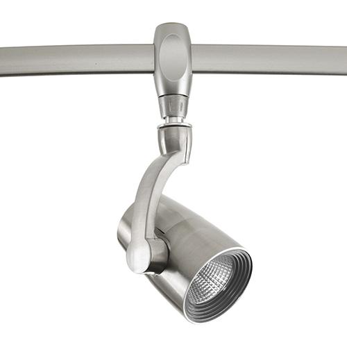Progress Lighting P9031-09-27K9: Brushed Nickel One-Light LED Energy Star Track Light Head