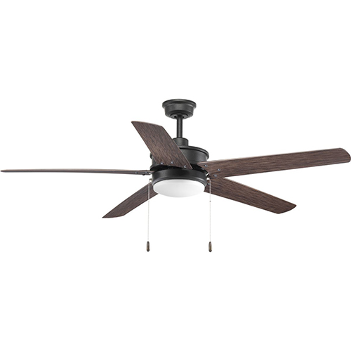 P2574-8030K: Whirl Forged Black 60-Inch LED Ceiling Fan