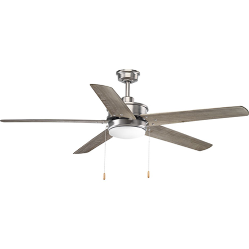 P2574-8130K: Whirl Antique Nickel 60-Inch LED Ceiling Fan