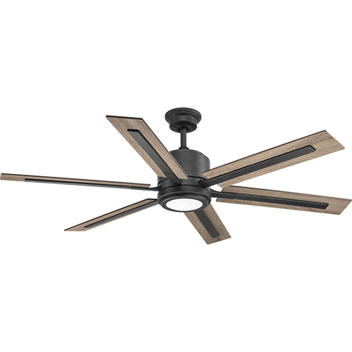 P2586-7130K: Glandon Gilded Iron 60-Inch LED Ceiling Fan