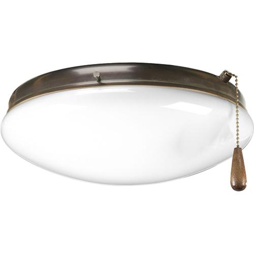 Progress Lighting P2602-20WB: Antique Bronze Energy Star Two-Light LED Light Kit