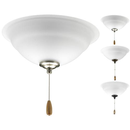P2645-01WB: Torino White Energy Star Two-Light LED Light Kit
