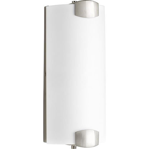 Progress Lighting P300171-009-30: Balance LED Brushed Nickel Energy Star Two-Light LED Bath Bar