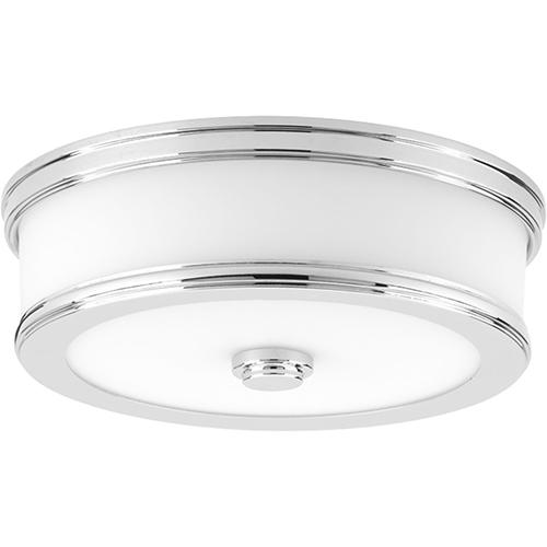 P350085-015-30: Bezel LED Polished Chrome Energy Star LED Flush Mount