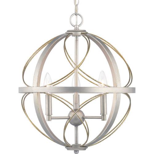 Brandywine Silver Ridge Three-Light Pendant
