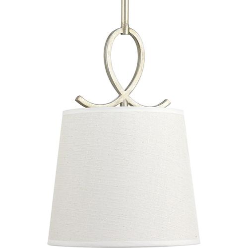 Progress Lighting P500080-134: Savor Silver Ridge One-Light Pendant