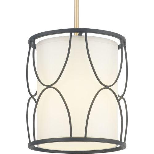 Landree Black One-Light Pendant