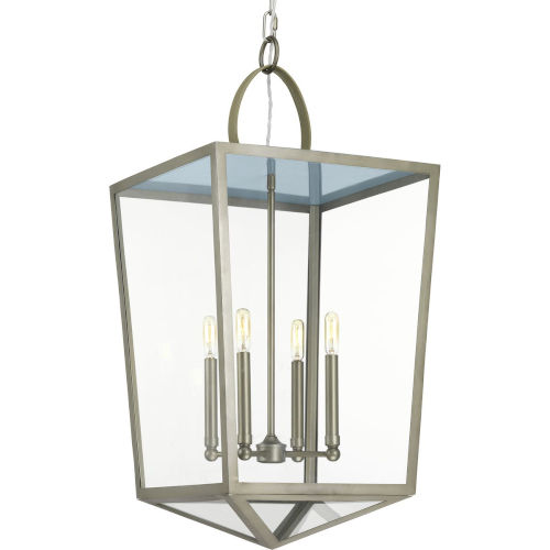 Shearwater Antique Nickel Four-Light Pendant