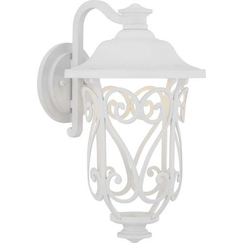 White LED One-Light Outdoor Wall Lantern