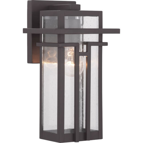 Antique Bronze One-Light Outdoor Wall Lantern
