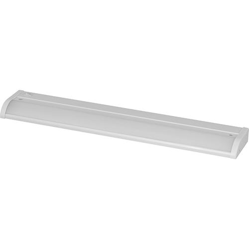 Progress Lighting P700002-028-30: Satin White Energy Star LED Under Cabinet Light