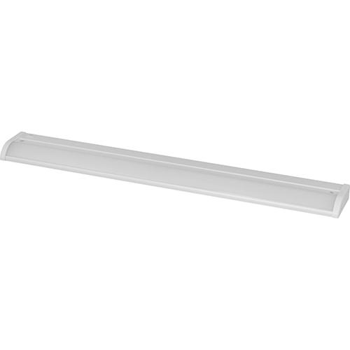 P700003-028-30: Satin White Energy Star LED Under Cabinet Light