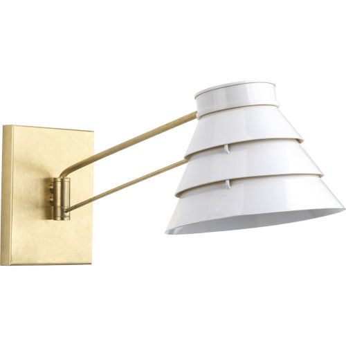 Onshore Brushed Brass One-Light wall sconce