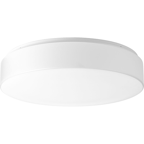 P730003-030-30: Drums and Clouds White Energy Star LED Flush Mount