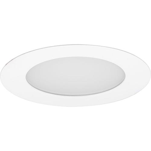 P800005-028-30: Edgelit Recessed Satin White Energy Star LED Recessed Light