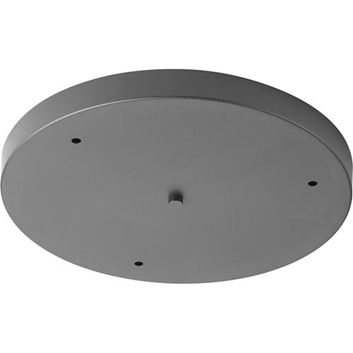 Progress Lighting P8403-143: Graphite Three-Light Round Pendant Canopy