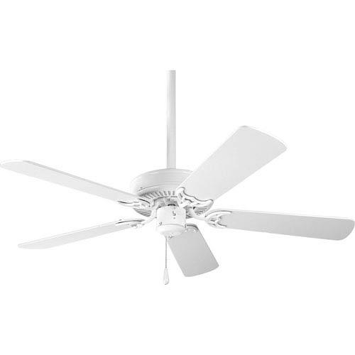 P2500-30:  42-Inch White Ceiling Fan