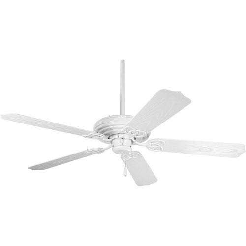 P2502-30:  52-Inch White Indoor/Outdoor Ceiling Fan