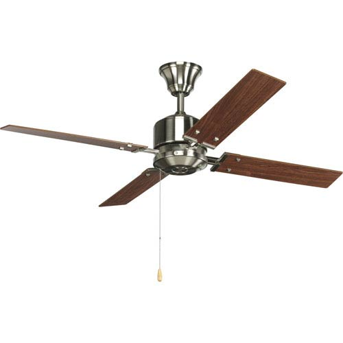 P2531-09:  North Park Brushed Nickel 52-Inch Energy Star Ceiling Fan