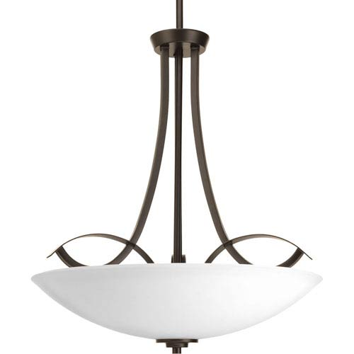 P3446-20 Merge Antique Bronze 20-Inch Three-Light Pendant