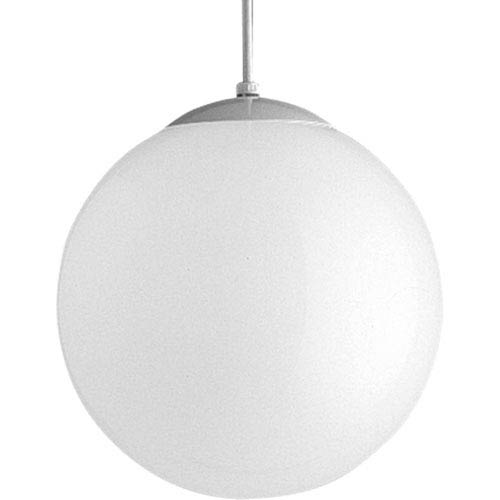 Opal Globes White 52-Inch One-Light Pendant with White Opal Glass