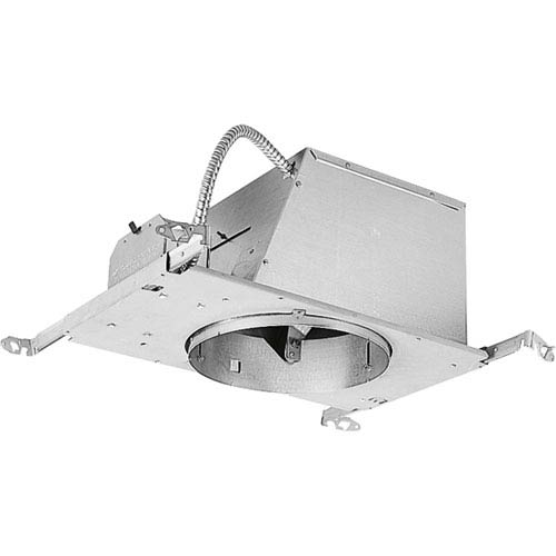 P45-AT Unfinished One-Light Air Tight IC Rated Recessed Housing