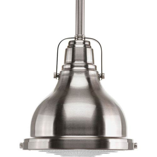 P5050-09 Brushed Nickel 6-Inch One-Light Mini Pendant