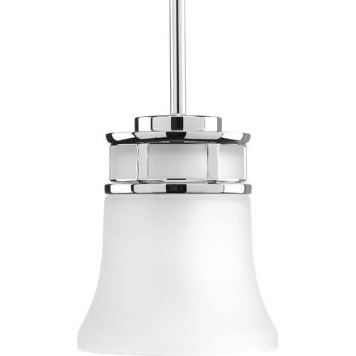 P5066-15 Cascadia Polished Chrome One-Light Mini Pendant