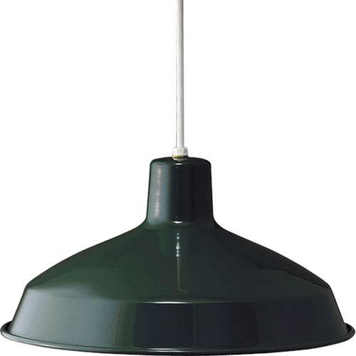 P5094-45:  Dark Green One-Light Pendant