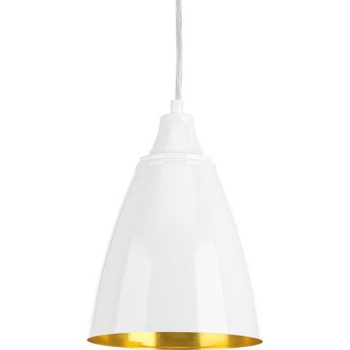 P5175-3030K9 Pure White One-Light LED Mini Pendant