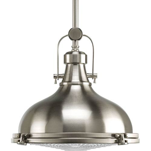 P5188-0930K9 Brushed Nickel 12-Inch One-Light Energy Star LED Pendant
