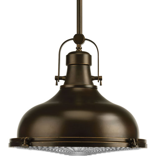 P5197-10830K9 Oil Rubbed Bronze 16-Inch One-Light Energy Star LED Pendant