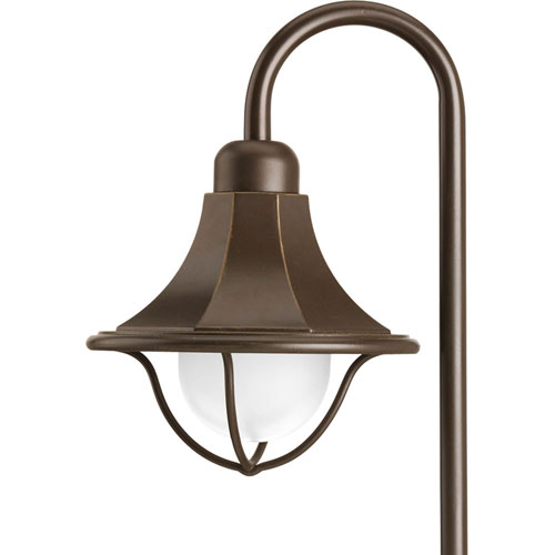 Antique Bronze One-Light Landscape
