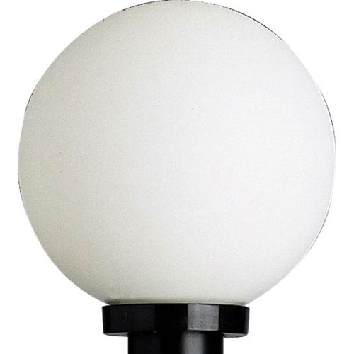 Globe Black One-Light Outdoor Post Light