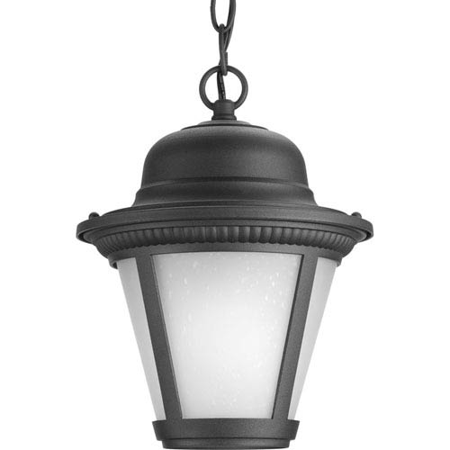 P5530-3130K9 Westport Black 9-Inch One-Light Energy Star LED Outdoor Pendant