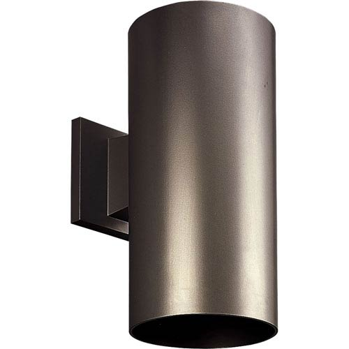 P5641-20/30K Antique Bronze 6-Inch One-Light LED Outdoor Wall Sconce