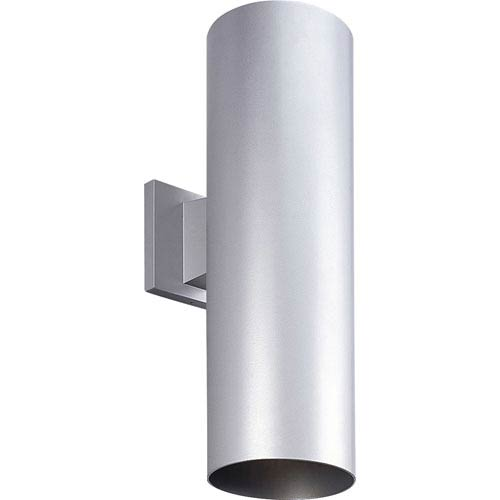 P5642-82/30K Metallic Gray 6-Inch Two-Light LED Outdoor Wall Sconce