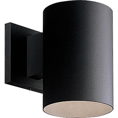 P5674-31/30K Black 7.5-Inch One-Light LED Outdoor Wall Sconce