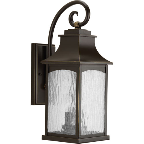 Progress Lighting P5754 108 Maison Oil Rubbed Bronze Two Light Outdoor Wall Sconce