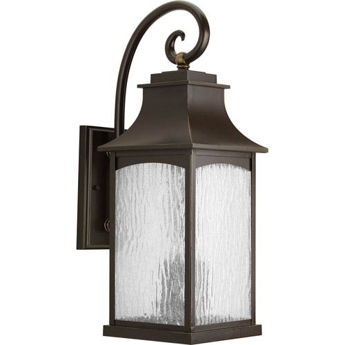 P5755-108 Maison Oil Rubbed Bronze Three-Light Outdoor Wall Sconce