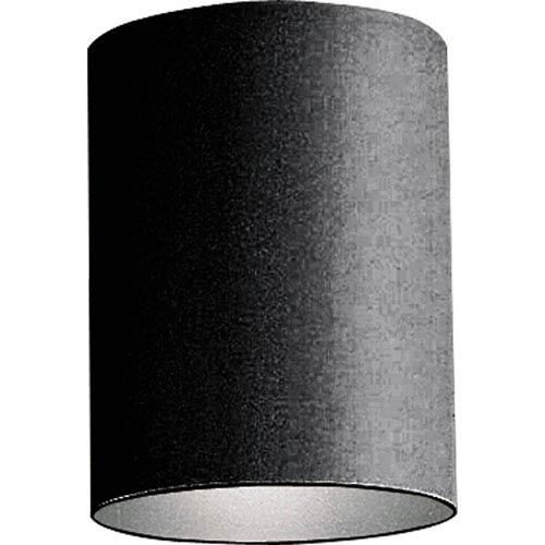 Progress Lighting Cylinder Black One-Light Outdoor Wall Mount