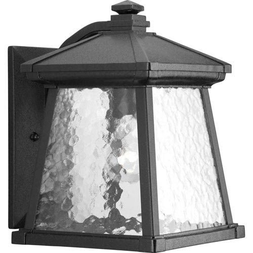 Mac Black One-Light Outdoor Wall Lantern
