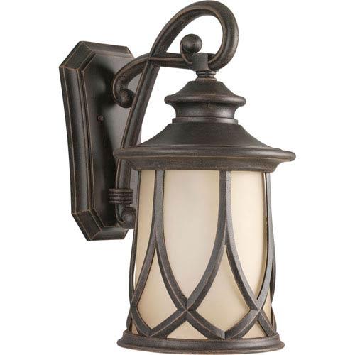 Progress Lighting Resort Aged Copper 19.75-Inch One-Light Outdoor Wall Lantern