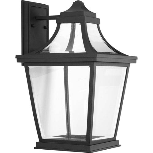 P6058-3130K9 Endorse Black One-Light Energy Star 11-Inch LED Outdoor Wall Lantern