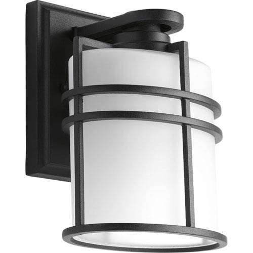 P6062-31 Format Black One-Light 6-Inch Outdoor Wall Lantern