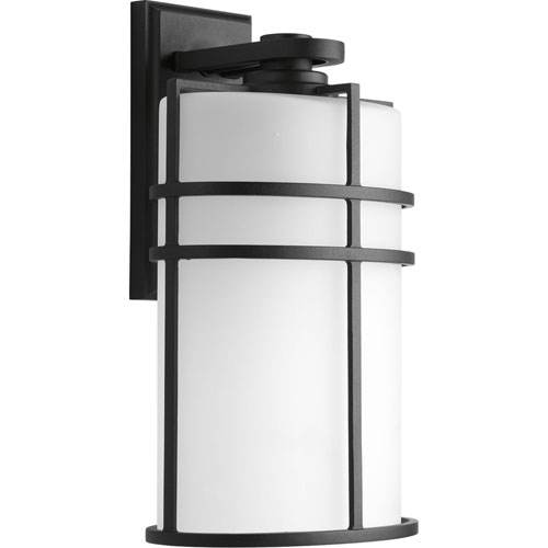 P6064-31 Format Black One-Light 9.5-Inch Outdoor Wall Lantern