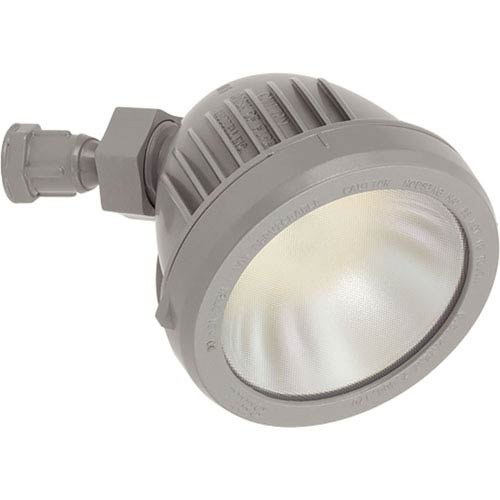 Progress Lighting P6342-82/30K Metallic Gray One-Light Outdoor LED Single Flood Light Head