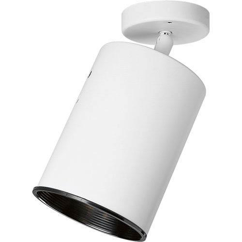 P6397-30:  White One-Light Semi-Flush
