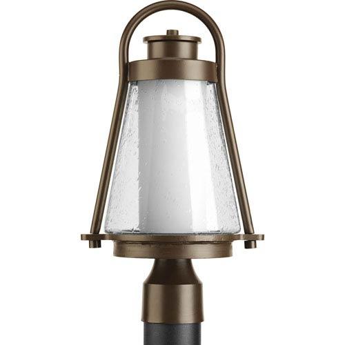 Regatta Antique Bronze One-Light Outdoor Post Lantern